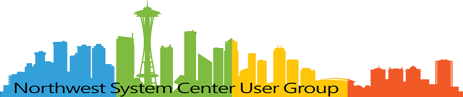 Northwest System Center User Group | All Things Management